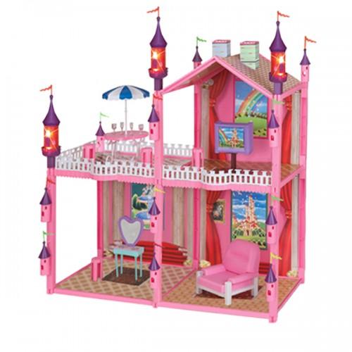 Замок для кукол с мебелью 99 дет. 1TOY
