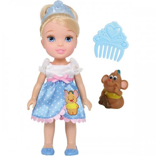 Золушка 15 см Кукла Принцессы Дисней Малышка с питомцем