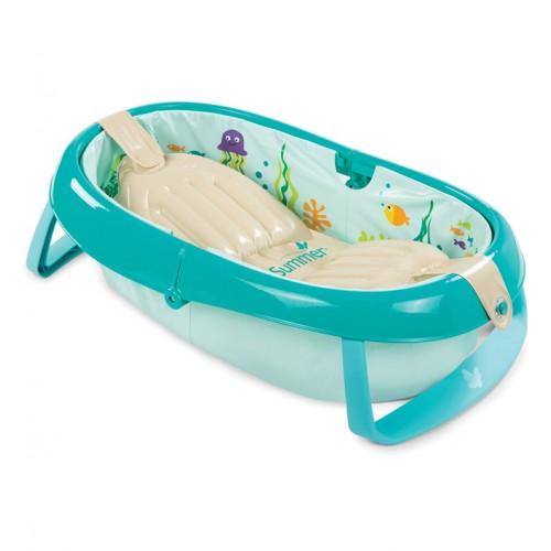Детская ванна, складная Baby's Aquarium Summer Infant