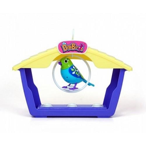 Большой дом для птиц с 1й птицей DigiBirds 88026S