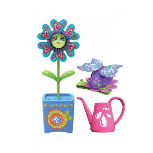 Волшебный цветок с заколкой для волос и волшебным жучком Magic Blooms Silverlit