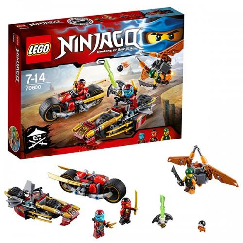 Лего Ниндзяго Погоня на мотоциклах Lego (Лего)