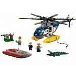 Погоня на полицейском вертолёте Lego (Лего)