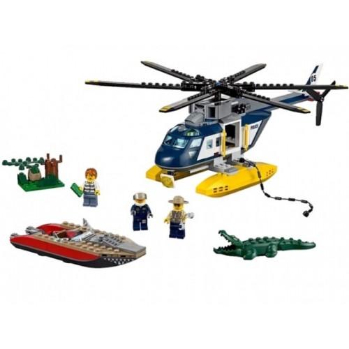 Погоня на полицейском вертолёте Lego 60067
