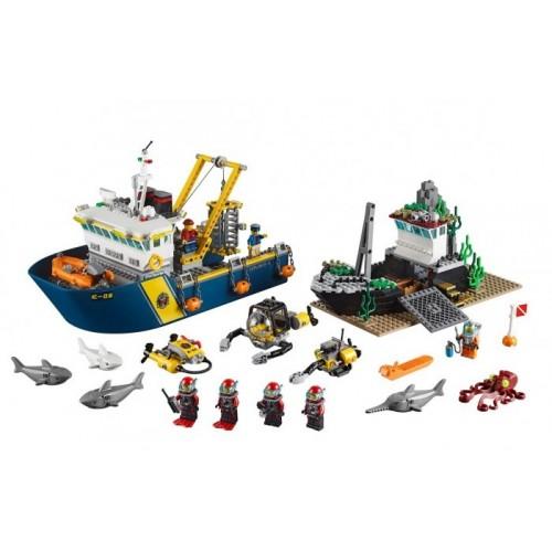 Корабль исследователей морских глубин Lego 60095