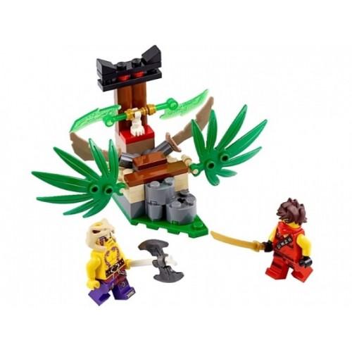 Ловушка в джунглях Lego 70752