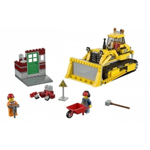 Бульдозер Lego 60074
