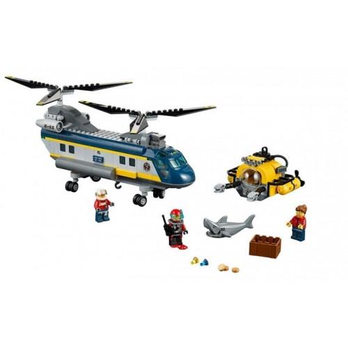 Вертолет исследователей моря Lego 60093