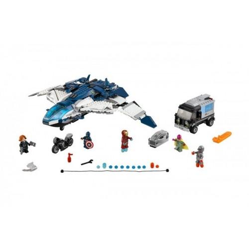 Погоня на Квинджете Мстителей Lego (Лего) 76032