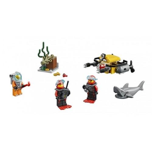 Морские глубины набор для начинающих Lego 60091