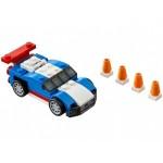 Синий гоночный автомобиль Lego (Лего)