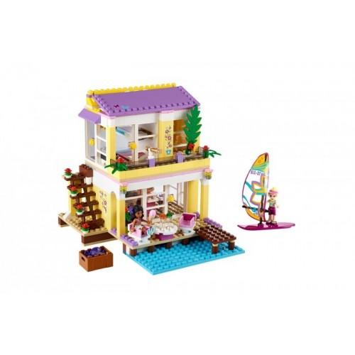 Пляжный домик Стефани Lego 41037