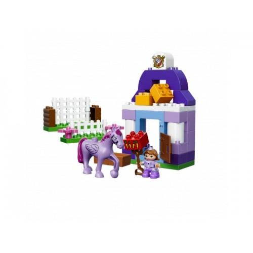 София Прекрасная: королевская конюшня Lego 10594