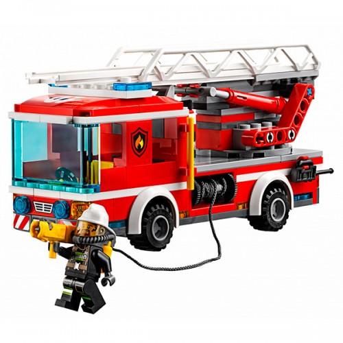 Лего Город Пожарный автомобиль с лестницей Lego (Лего)