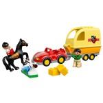 Лего Дупло Трейлер для лошадок Lego (Лего)