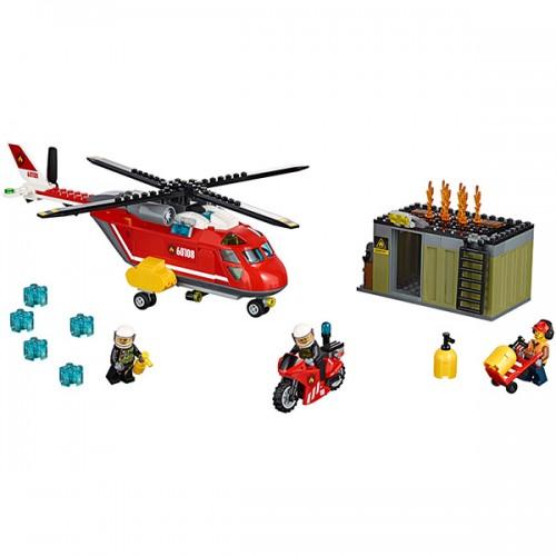 Лего Город Пожарная команда быстрого реагирования Lego (Лего)