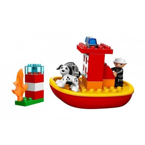Пожарный катер Lego 10591