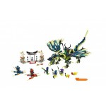 Атака дракона Морро Lego (Лего)