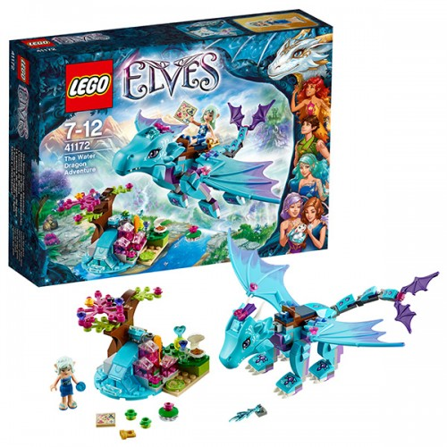 Лего Эльфы Приключение дракона воды Lego (Лего)