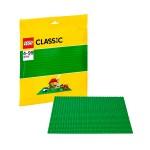 Лего Классика Строительная пластина зеленого цвета Lego (Лего)