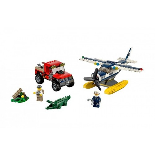 Погоня на полицейском гидроплане Lego 60070