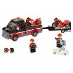 Перевозчик гоночных мотоциклов Lego (Лего)