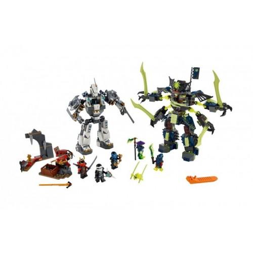Битва механических роботов Lego (Лего)