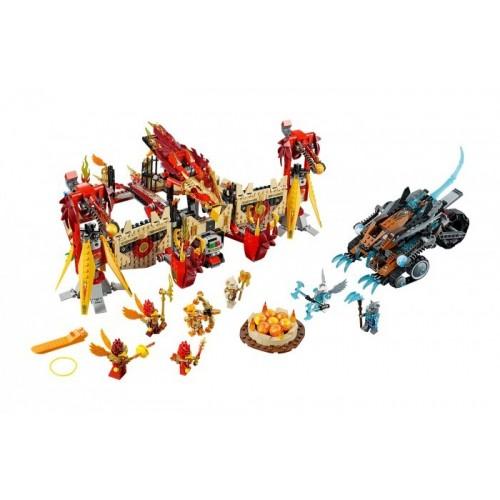 Огненный летающий храм Фениксов Lego (Лего)