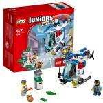Лего Джуниорс Погоня на полицейском вертолёте Lego (Лего)