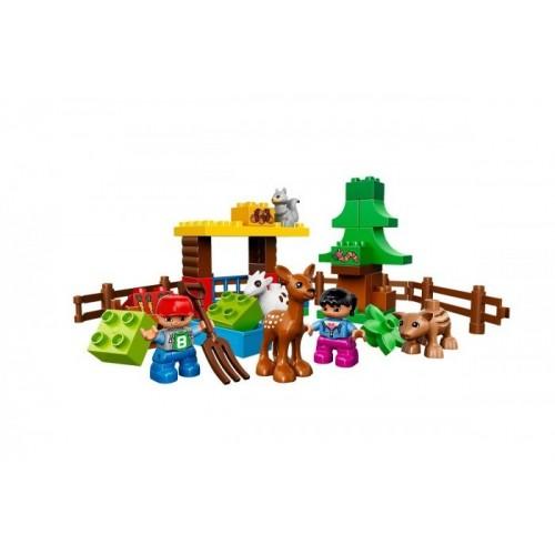 Лесные животные Lego 10582