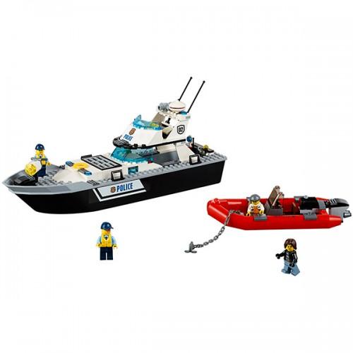 Лего Город Полицейский патрульный катер Lego (Лего)
