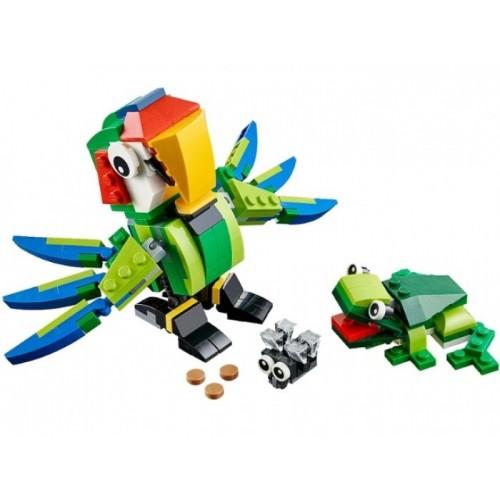 Животные джунглей Lego 31031