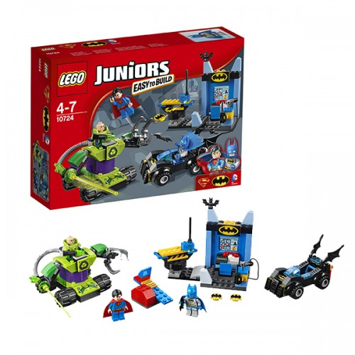 Джуниорс Бэтмен и Супермен против Лекса Лютора  Lego (Лего)