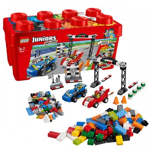 Джуниорс Ралли на гоночных автомобилях  Lego (Лего)