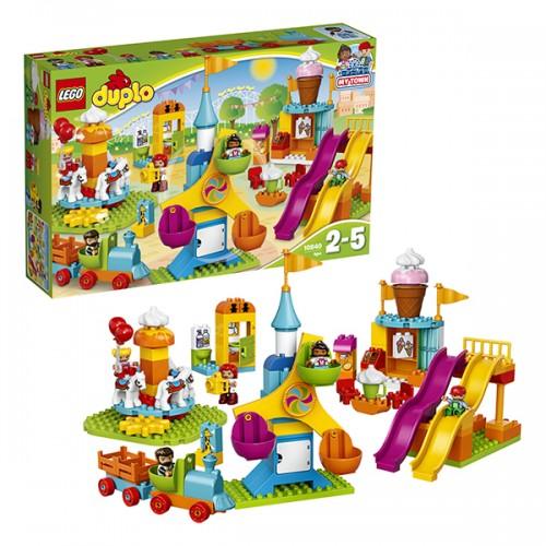 Дупло Большой парк аттракционов Lego Лего