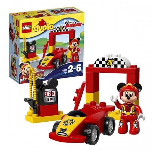 Дупло Гоночная машина Микки Lego Лего