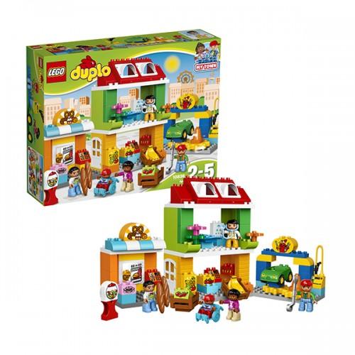 Дупло Городская площадь Lego Лего