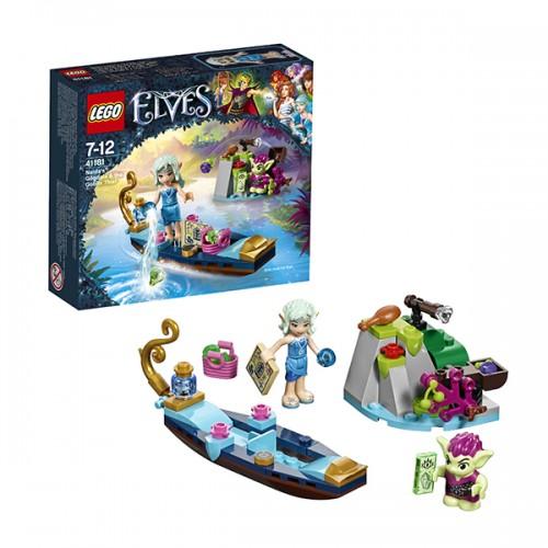Эльфы Встреча Наиды с гоблином-воришкой Lego Лего