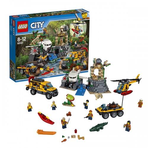 Город База исследователей джунглей Lego Лего