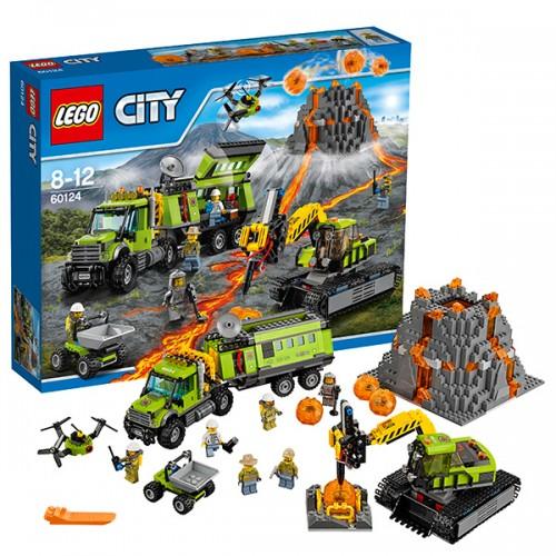Город База исследователей вулканов  Lego (Лего)