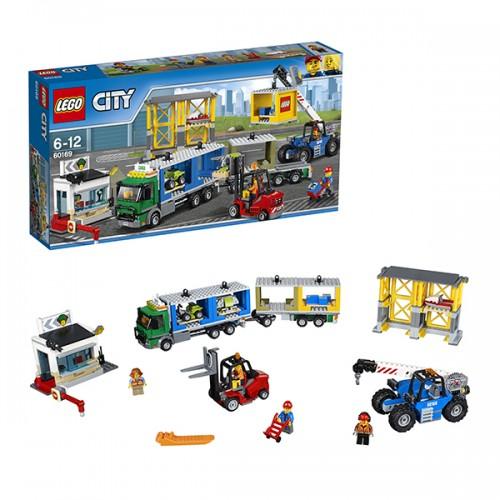 Город Грузовой терминал Lego Лего