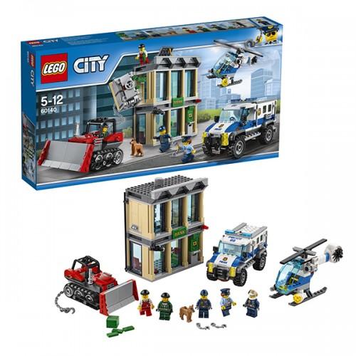 Город Ограбление на бульдозере Lego Лего