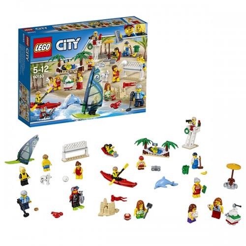 Город Отдых на пляже - жители LEGO CITY Lego Лего