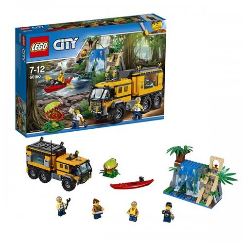 Город Передвижная лаборатория в джунглях Lego Лего