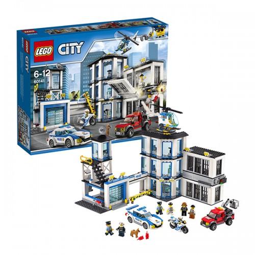 Город Полицейский участок Lego Лего