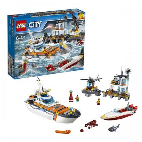 Город Штаб береговой охраны Lego Лего