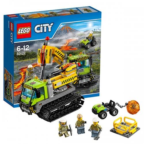 Город Вездеход исследователей вулканов  Lego (Лего)