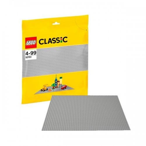 Классика Строительная пластина серого цвета  Lego (Лего)