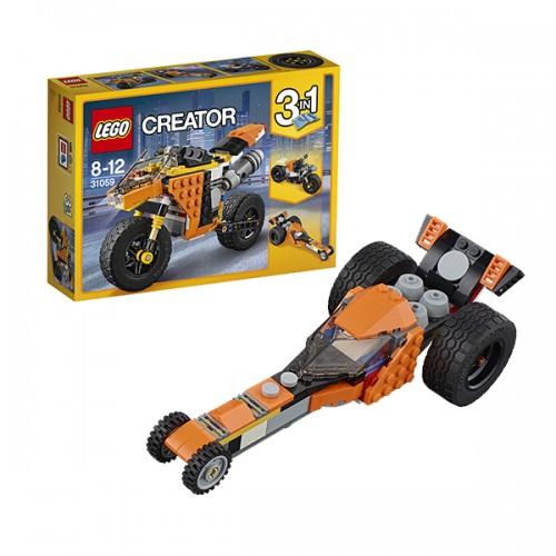 Криэйтор Жёлтый мотоцикл Lego Лего