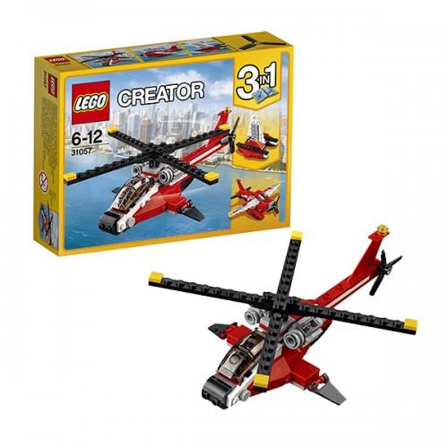 Криэйтор Красный вертолёт Lego Лего